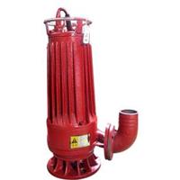 青岛排污泵 带绞刀装置排污泵效能好 红星水泵排污力强切粉碎好