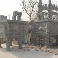供应供应仿古石雕栓马桩望桩,系马桩礼器宝瓶石鼎,香炉天公炉