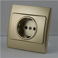 欧式插座带接地,伊朗开关厂家直销,16A欧式插座