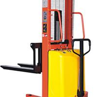 供应电动液压堆高叉车 1.5T-3.5M手推电动升高车