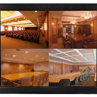 供应哈咪12寸工业级嵌入式壁挂式金属显示器