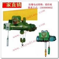 BCD型防爆钢丝绳电动葫芦|矿用防爆电动葫芦厂家