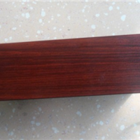 供应佛山铝材厂雄业门窗木纹铝材新红桃JS3009