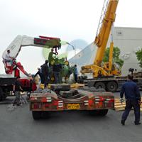 供应园区发电机吊装搬运,苏安起重吊装公司技术领先