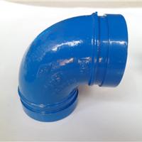 迈克饮用水给排水涂塑沟槽管件