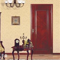 供应FS- 6301欧式奢华菲尚木门品牌套装门