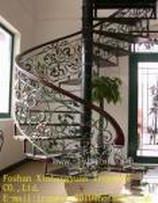 杭州铁艺楼梯 专业设计铁艺楼梯 杭州楼梯 豪诚铁艺楼梯
