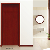 供应FS-1209现代时尚菲尚木门品牌套装门