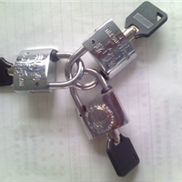 供应锌合金挂锁不锈钢挂锁