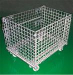 供应仓储笼、折叠式仓储笼、带脚轮仓储笼、百利丰生产厂家。