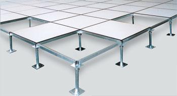 供应深圳 防静电地板 OA网络全钢防静电地板