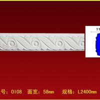 PU线条/欧式镜框线/雕花平板线/非石膏线条 OI08