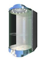 小机房观光电梯