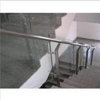 供应不锈钢谊升玻璃楼梯栏杆工程样式图
