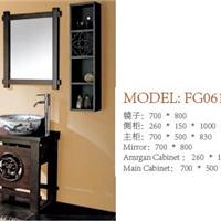 供应艺术中式浴室柜|酒店镜柜盆柜|佛山中高档浴室柜厂家