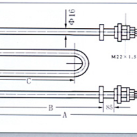 供应GYXY型硝盐溶液和GYJ型碱溶液管状电热元件