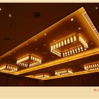 酒店装饰工程灯,大堂装修工程灯,酒店水晶工程灯,古镇工程灯