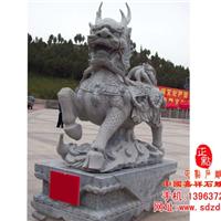 供应石雕麒麟,石雕貔貅,石雕辟邪,蟾蜍等动物雕塑