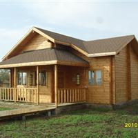 供应防腐木屋、木别墅、会所