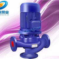 GW管道无堵塞排污泵 GW管道排污泵 管道泵选型