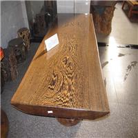供应鸡翅木大板 办公桌 会议桌 画案 琴案  餐桌