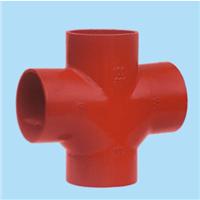 供应柔性抗震铸铁排水管件 TY四通 T四通