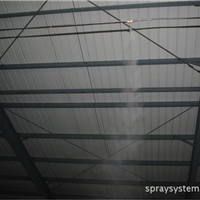 供应江西南昌九江赣州抑尘降温高压微雾加湿器厂家直销喷雾系统