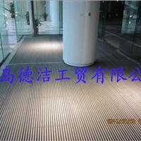 供应东营铝合金防滑地垫 商场 银行 机场旋转门除尘地毯