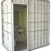 酒店宾馆装修专用整体卫浴、整体淋浴房