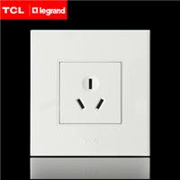 安徽合肥TCL罗格朗A6墙壁开关插座面板16A三孔空调插座