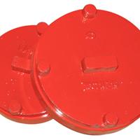 供应沟槽管道专用盲板、堵板