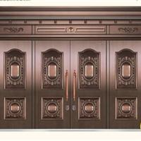 供应郑州铜门||别墅铜门||家庭铜门|