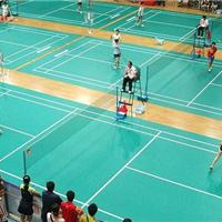供应中山PVC球场地板、羽毛球场PVC球场地板