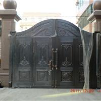 供应河南欧式铜大门 欧式别墅铜门 欧式家庭铜门 郑州铜门厂家