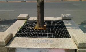 供应四川玻璃钢环保护树,美观大方