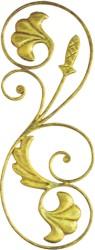厂价直销锻打铁艺梯花,可订做锻打加工各种铁花件