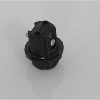 供应E12灯头灯座 全牙电木 不带支架UL认证