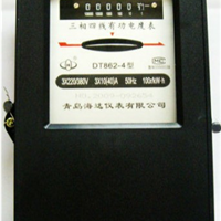 东营三相四线有功能表 DT862型三相四线 青岛海达仪表