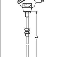 卡套螺纹式铠热阻WZPK2-335