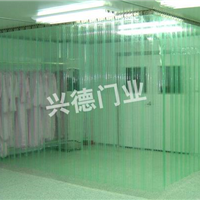 供应东莞 PVC防静电软门帘  就找兴德门业有