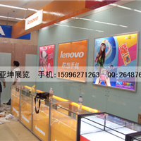 供应南京数码配件展柜设计制作数码耗材展柜