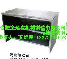 供应不锈钢污物接收台