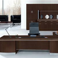 供应HJ-9698咖啡色办公桌