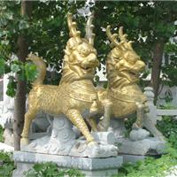 供应石雕麒麟,狮子貔貅厂家