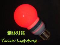 供应LED装饰灯 彩色小灯泡 装饰效果灯
