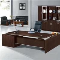 供应海景HJ-9686咖啡色办公桌