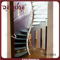 供应精品玻璃楼梯 不锈钢玻璃踏板楼梯