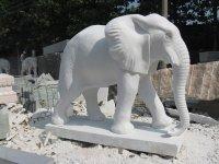 供应石雕石象大象厂家,石雕大鹏