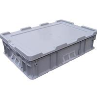 供应昆明带盖塑料周转箱