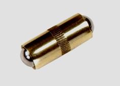 供应优质低价双头铜质嵌入式定位珠